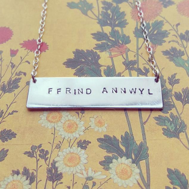 Necklace - 'Ffrind Annwyl'