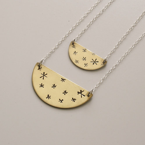 Stars Necklace - Mwclis Sêr