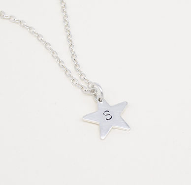 Personalised star necklace Vicky Jones3.