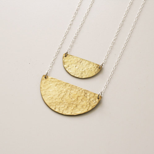 Moon Necklace - Mwclis Lleuad