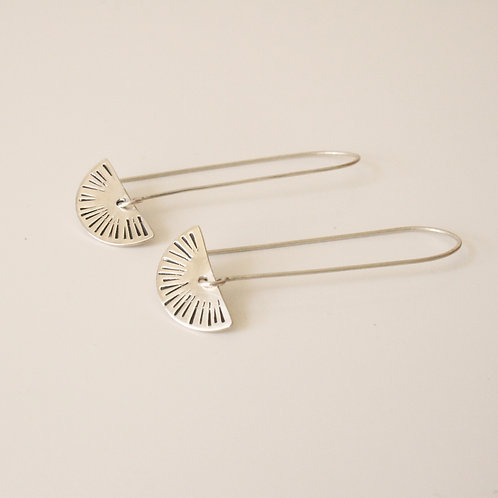 Sunset Earrings - Clustdlysau Machlud