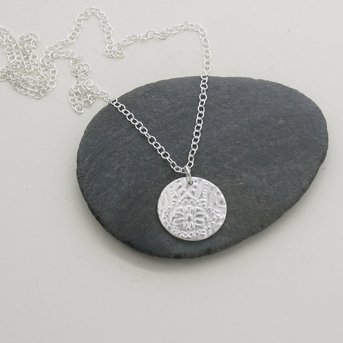 Silver necklace - Mwclis Arian