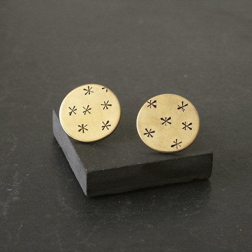 Stars Earrings - Clustdlysau Sêr