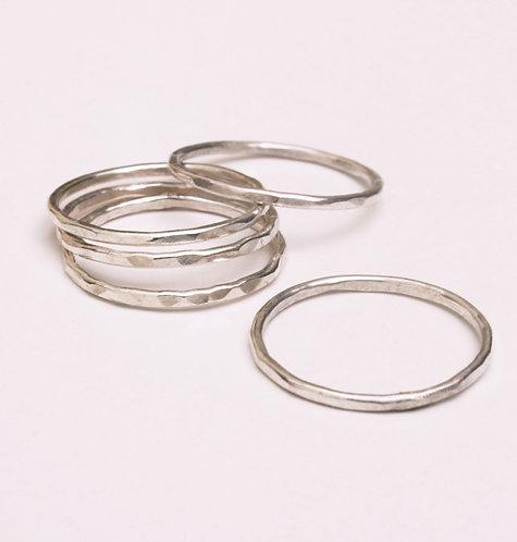 5 Silver Rings - 5 Modrwy Arian