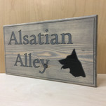 Alsatian Dog Sign