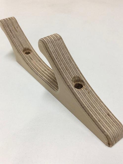Double Wooden Hooks