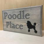 Poodle Doc Sign