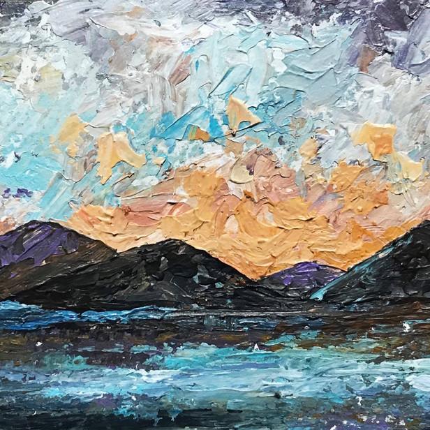 """""""Winter Sunset o'er Glencoe"""""""