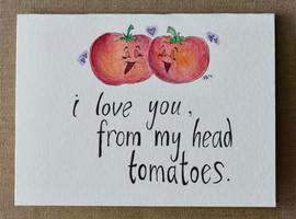 Tomato Love Card