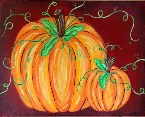 "16x20"" Pumpkin Painting"