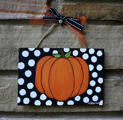 Pumpkin Door Dec