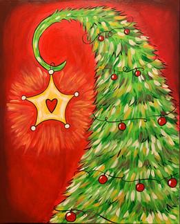 """16x20"""" Dr. Seuss Tree"""