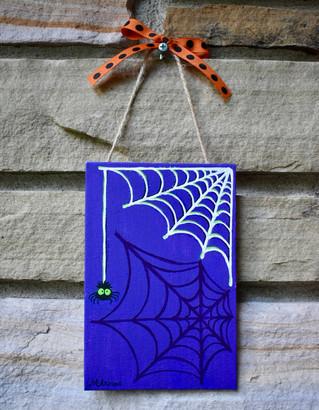 Spiderweb Door Dec