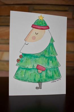Watercolor Card