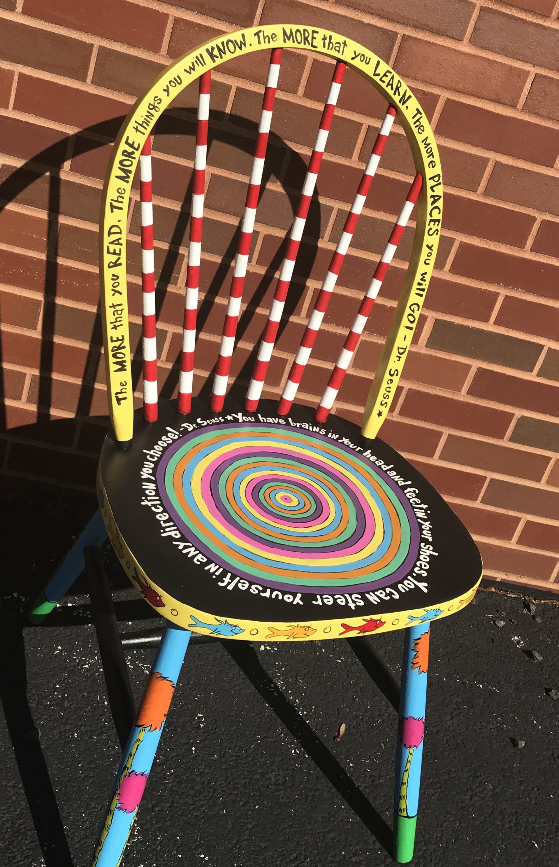 Painted Chair