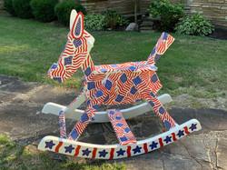 Painted Rocking Horse