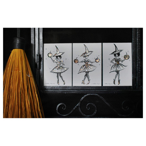 Set of 3 Witches
