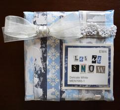 Let it Snow Scrapbook Canvas