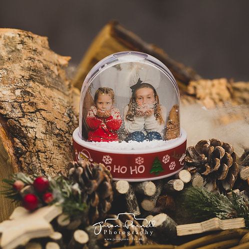 Snow Globe with Your Photo