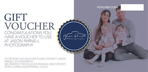 Family Studio Shoot Gift Voucher