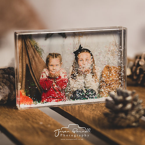 6x4 Snow Block with Your Photo