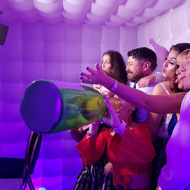 The Photo Booth Mansfield Hire Led Inflatable Booth Inside.jpg