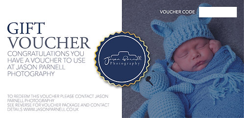 New Born Studio Shoot Gift Voucher