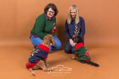 Family Studio Shoot with Pet