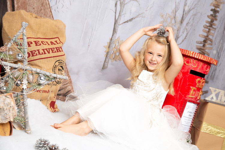 Christmas Themed Studio Shoot