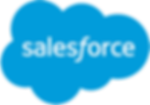 Salesforce logo, CRM, customer relationships management, cloud