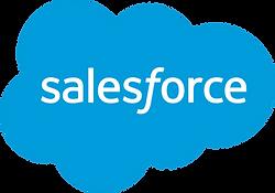Salesforce logo, CRM, customer relationships management, cloud