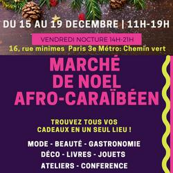 Marché de noël Afrocaraïbéen