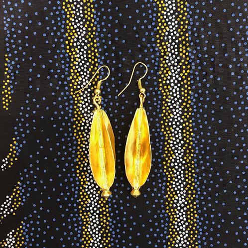 Boucles d'oreilles Cabosses Fulani