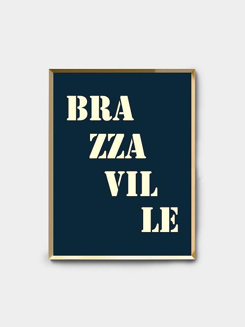 Affiche Brazzaville