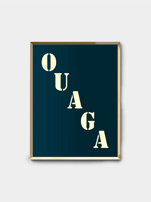 Affiche Ouaga