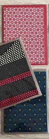 Cartes en tissu