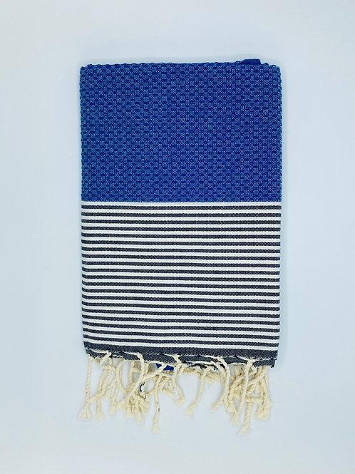 Fouta Bleu royal
