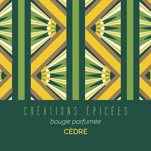Bougie Cèdre