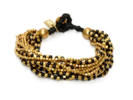 Bracelet Anjuna noir
