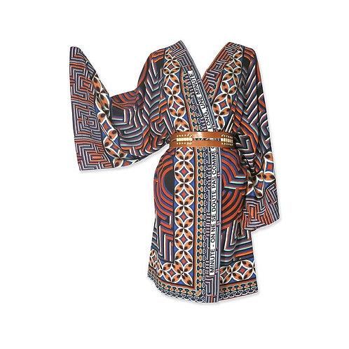 """Kimono en soie """"Minute"""""""