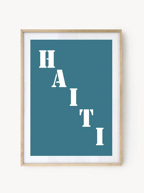 Affiche Haïti