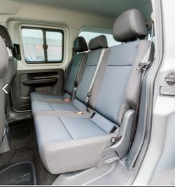 Rear passenger seats
