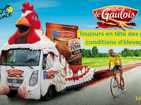 Le Gaulois, sponsor sanguinaire du Tour de France