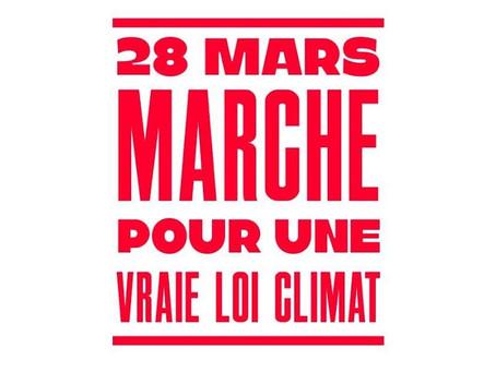 Marche pour une vraie Loi Climat, Paris, 28/03/2021