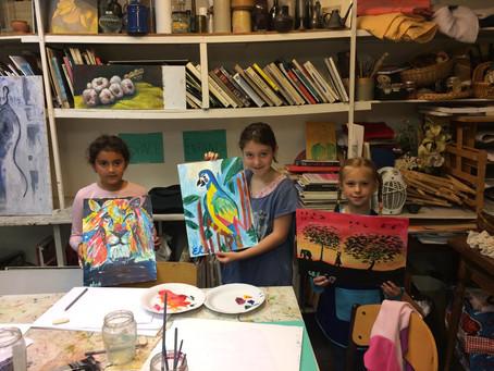"""Les cours """"enfants et ados"""" sont désormais ouverts à l'atelier!"""