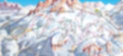 Ski Center Latemar - map