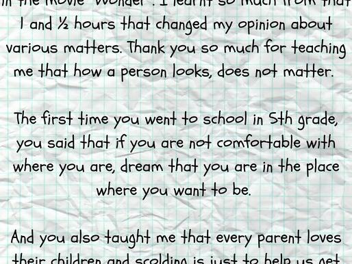 Dear Auggie