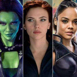 Female Superheroes!