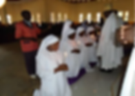 Nuns taking vows