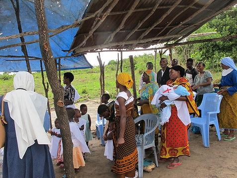 Baptism in Tanzania